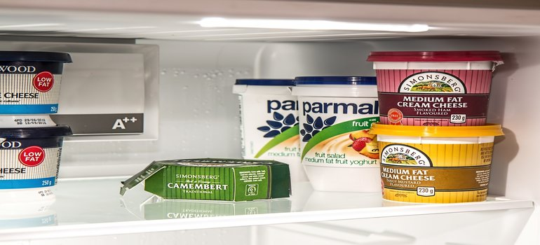 food you need to getout of the fridge before you prepare your kitchen appliances for relocation