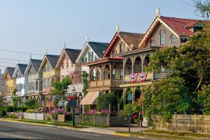 Row of houses in New Jersey.