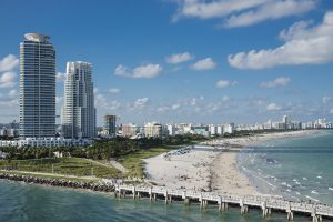 Miami City in Florida as The Sunshine State is one of the best states of the East Coast to invest in.